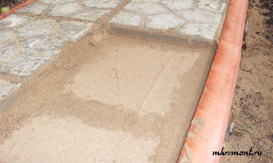 Укладка тротуарной плитки 30х30 своими руками фото 599