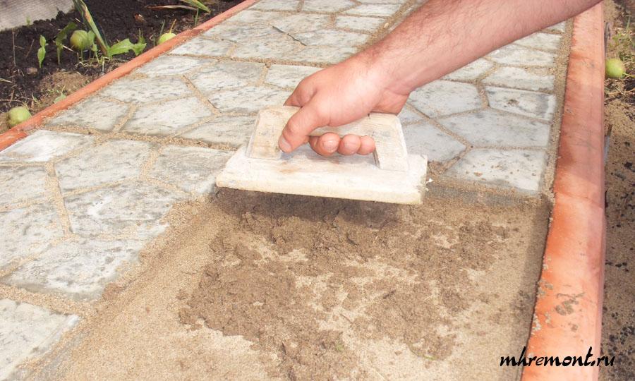 Как класть тротуарная плитка своими руками 34