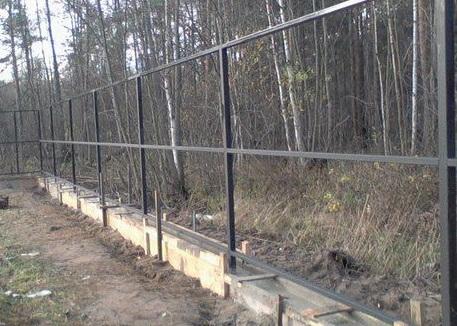 Ростверк для забор своими руками 31
