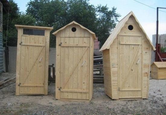 Оригинальные туалеты для дачи фото.