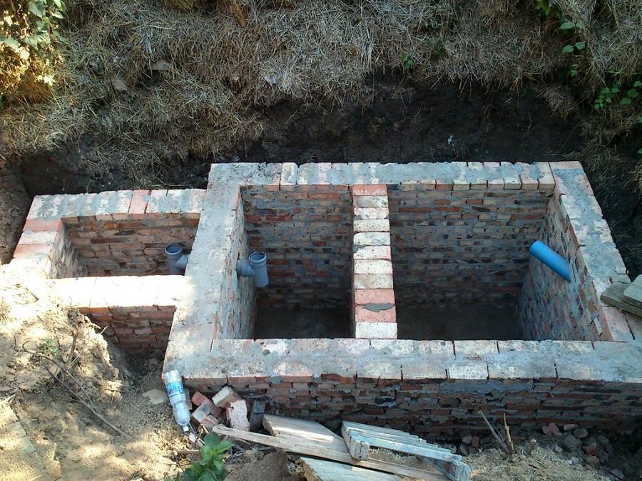 Как сделать выгребную яму для туалета фото 82