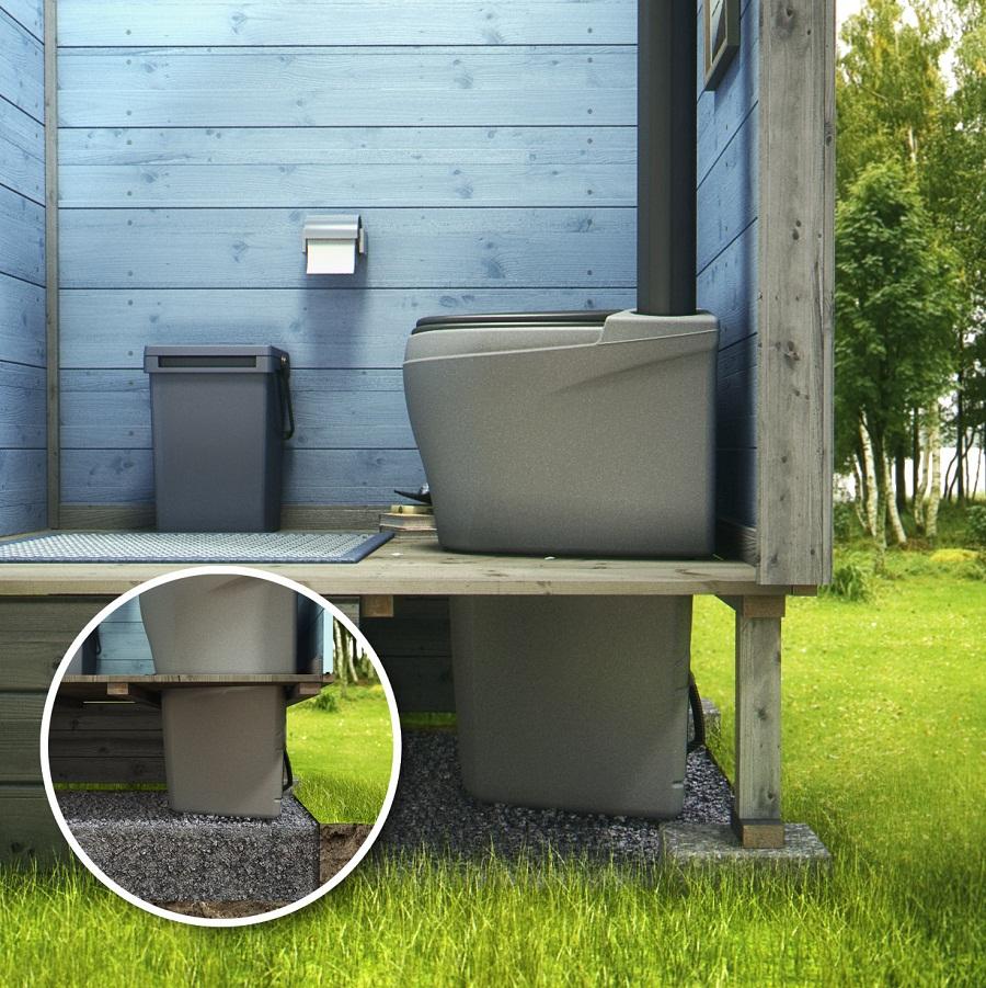 Откачка туалетов на даче своими руками