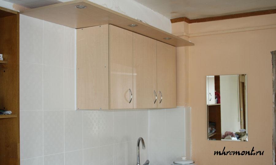 Фото готовой кухни верхняя часть