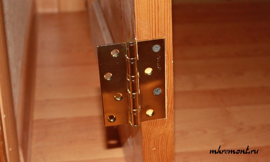 Как сделать петель на дверь 95