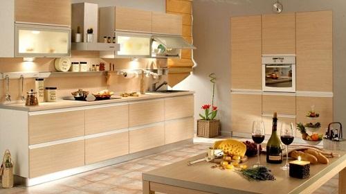 Подсветка различных элементов кухонного гарнитура позволяет не только сделать комфортным рабочую зону, но и становится украшением.