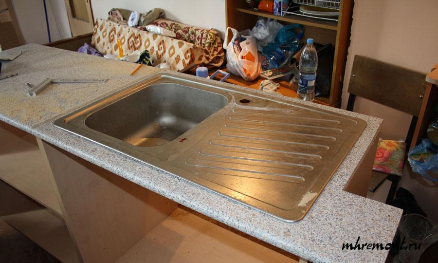 Монтаж столешницы на кухню своими руками