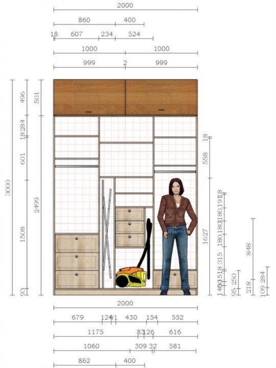 Схема шкаф-купе своими руками фото 824