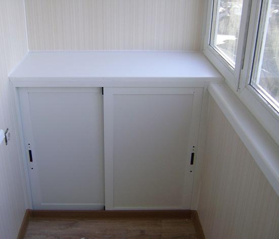 Как сделать шкаф на лоджии из пластиковых панелей