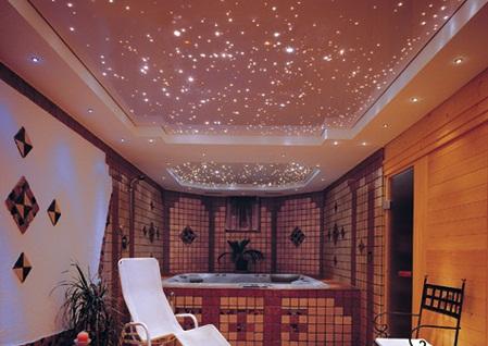 Скрытая подсветка потолка из гипсокартона