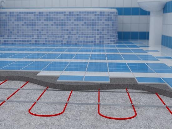 Стяжка единственно правильное решение для кабельных теплых полов. На качественную стяжку легко укладывать плитку. Поэтому в ванных комнатах и кухнях альтернативы стяжки нет.