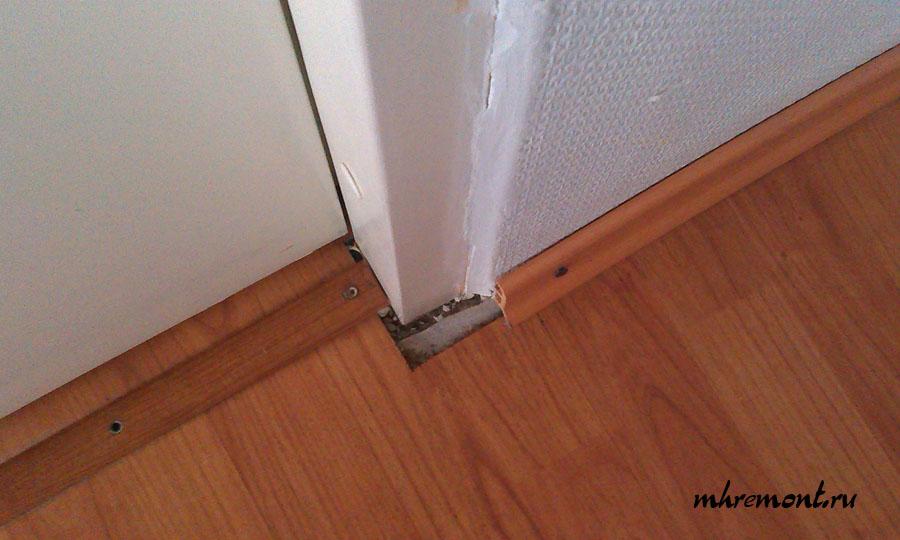 Утепление стены изнутри квартиры в панельном доме