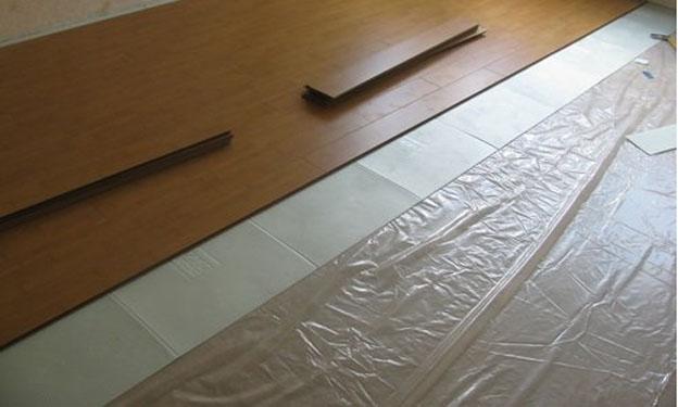 Укладка ламината на пленочный теплый пол своими руками
